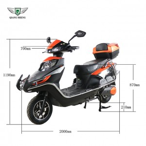 1500W 48V/60V Electric Motorcycle High Quality E Scooter from chinese factory